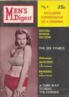 Men's Digest # 6 magazine back issue cover image