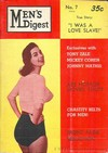Men's Digest # 7 magazine back issue cover image