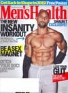 Men's Health January/February 2015 magazine back issue cover image