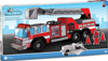 fire truck modello puzzle, color and build your own fire truck by modello