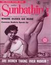 Modern Sunbathing January 1958 magazine back issue