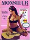 Monsieur August 1967 magazine back issue