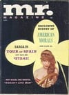 Mr. March 1962 magazine back issue