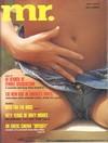 Mr. July 1977 magazine back issue