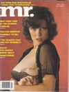 Mr. April 1980 magazine back issue