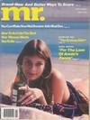 Mr. June 1980 magazine back issue