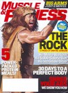 Muscle & Fitness September 2014 magazine back issue