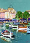 Port of Cassis painting by Audiber jigsaw puzzle 1500 Pieces by Nathan