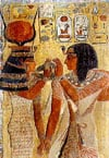 Photo of Sethi Hathor Egypt 1500piece jigsawpuzzle puzzel made by nathanpuzzles