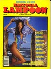 National Lampoon May/June 1988 magazine back issue cover image