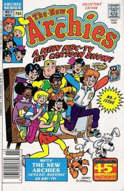 New Archies Comic Book Back Issues by A1 Comix