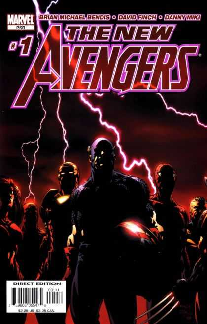 New Avengers Comic Book Back Issues by A1 Comix