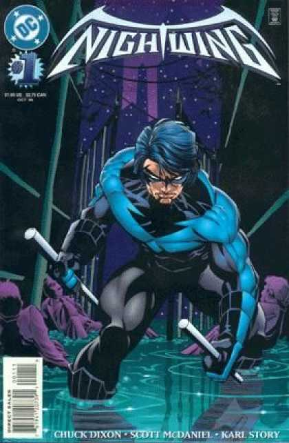 Nightwing Comic Book Back Issues by A1 Comix