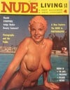 Nude Living # 4 magazine back issue cover image