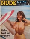 Nude Living # 5 magazine back issue cover image