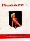 Nugget October 1957 magazine back issue