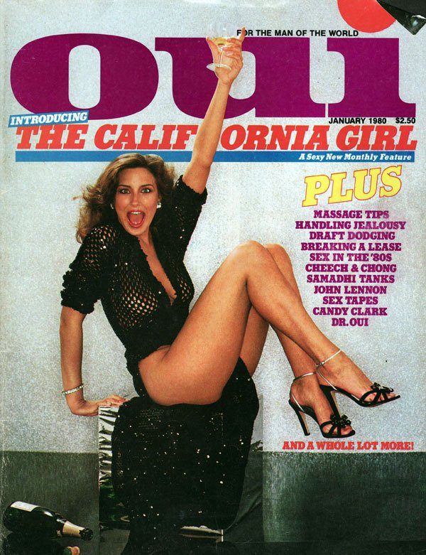 Oui January 1980 magazine back issue Oui magizine back copy oui magazine back issues, kathylautner, new magazine from playboy, xxx photos, awesome articles,