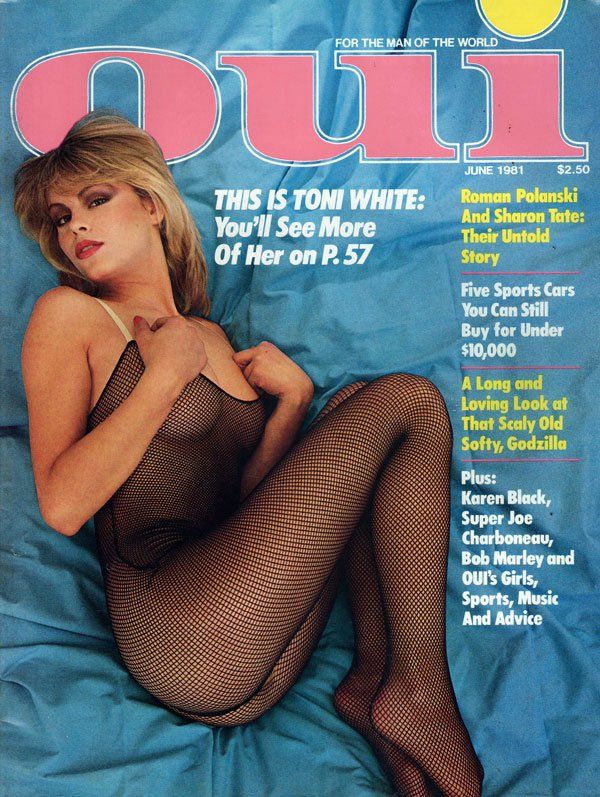 Oui June 1981 magazine back issue Oui magizine back copy oui magazine back issues, sexy nude girls, new magazine from playboy, xxx photos, awesome articles,