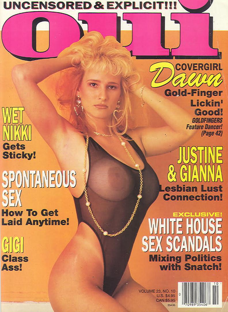 Oui October 1992 Magazine Back Issue Oui WonderClub