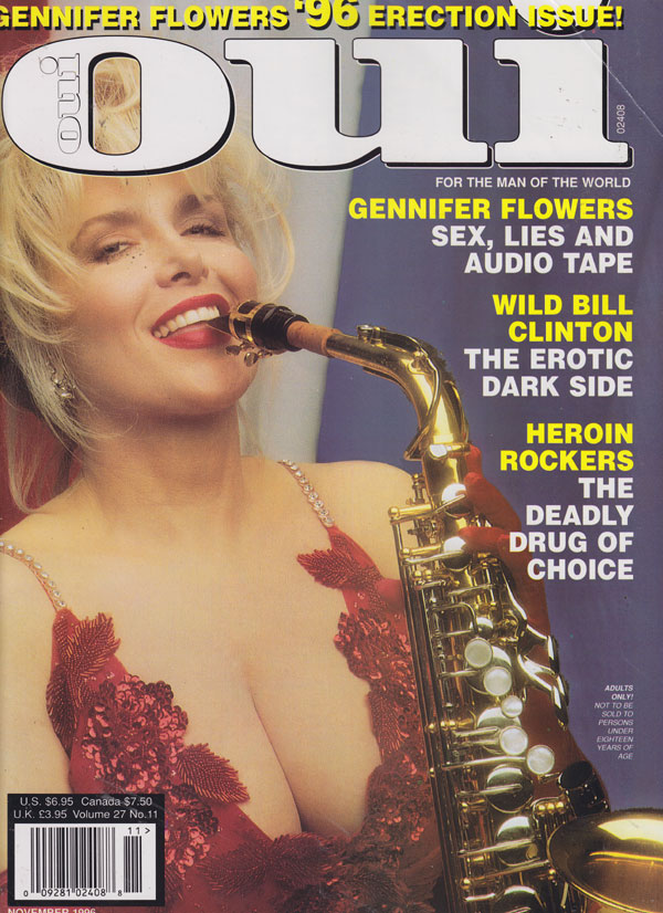 Oui November 1996 magazine back issue Oui magizine back copy oui magazine 1996 back issues xxx hot and horny women all lewd pictorials erotic sex pix drugs music