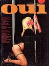 Oui October 1974 magazine back issue