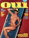 Oui August 1977 magazine back issue