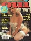 Oui May 1988 magazine back issue