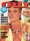 Oui August 1988 magazine back issue