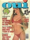 Oui March 1989 magazine back issue