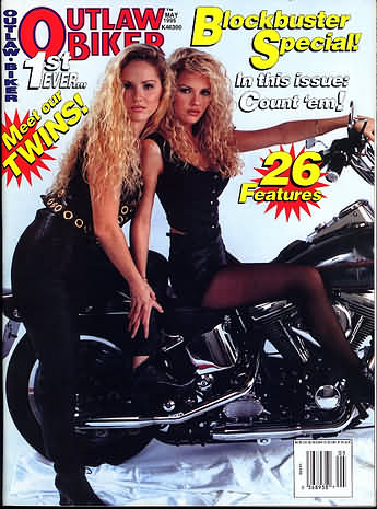 Outlaw Biker May 1995 Magazine Back Issue Outlaw Biker ...