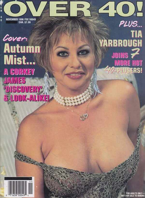 Over 40 November 1996 magazine back issue Over 40 magizine back copy over 40! magazine 1996 back issues hot sexy older women nude xxx milf pics senior babes spread wide