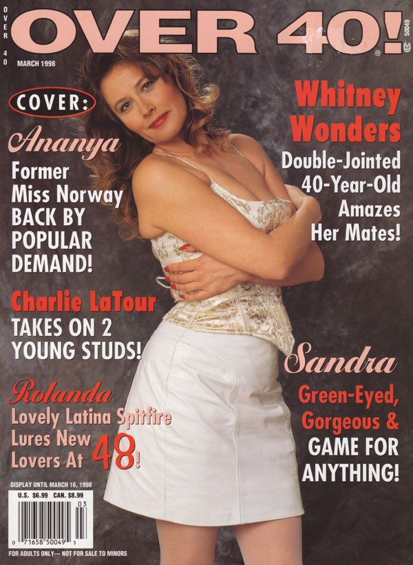 Over 40 Magazine Back Issue - March 1998