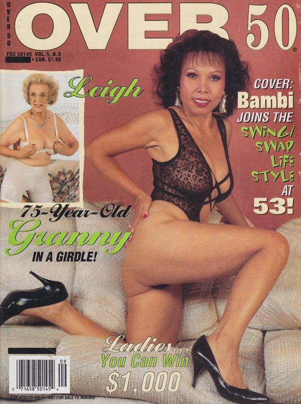 Over 50 Vol. 5 # 9 magazine back issue Over 50 magizine back copy over 50 magazine back issues 1996 75 year old granny porn senior babes explicit pictorials naughty g