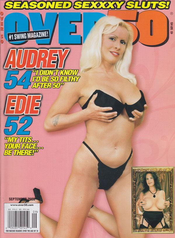 Over 50 September 2008 magazine back issue Over 50 magizine back copy over ...