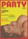 Party Avril 1978 magazine back issue