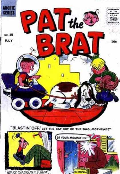 Pat the Brat A1 Comix Comic Book Database