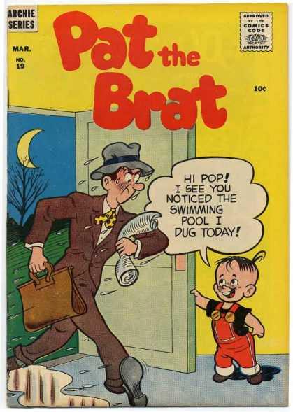 Pat the Brat A1 Comix Comic Book Database