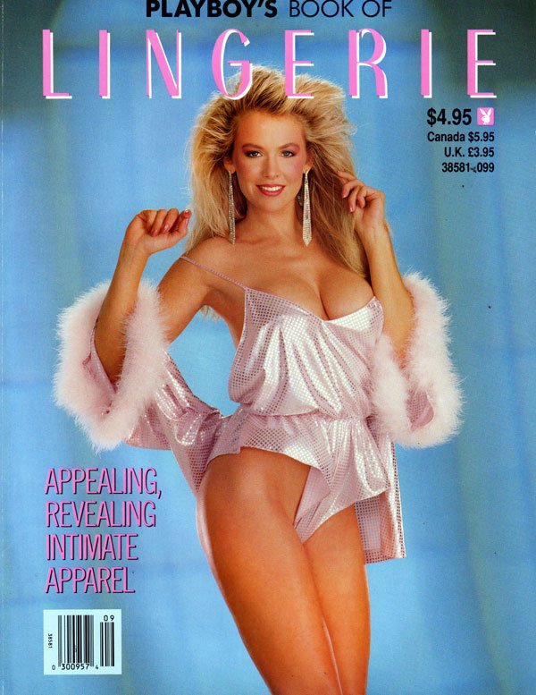 Lingerie # 9 - September/October 1989 magazine back issue Playboy Newsstand Special magizine back copy playboy's book of lingerie issue 10, back issues 1989 rare collector's edition, nude women in sexy c