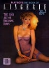 playboy's 1987 book of lingerie, the high art of dressing down, pictorials from playboy presents nud Magazine Back Copies Magizines Mags