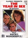 playboy presents the year in sex, 1987 reviewed, wild wacky wonderful, news stand special backissues Magazine Back Copies Magizines Mags