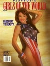 Racquel Darrian Girls of the World # 2 (1992) magazine pictorial