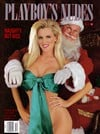 nice but naughty, playboy's nudes, collectors' christmas edition featuring tatiana l?viano shelly jo Magazine Back Copies Magizines Mags