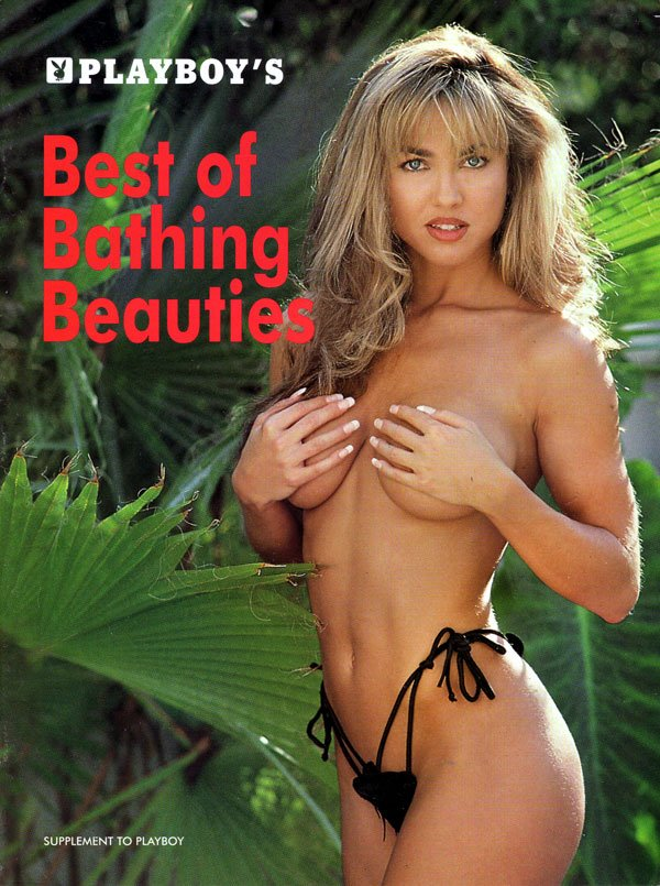 Best of Bathing Beauties - 1998 magazine back issue Playboy Subscriber Special magizine back copy playboy's bathing beauties, a supplement to playboy magazine, subscriber's special editions, sexy nu