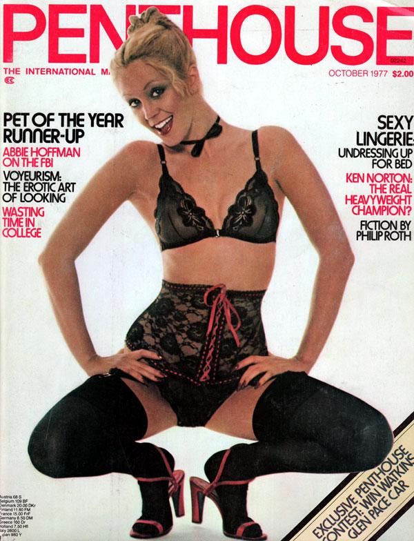 penthouse october 1977 magazine back issue penthouse. Black Bedroom Furniture Sets. Home Design Ideas