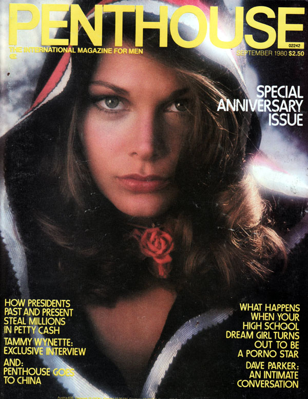 penthouse september 1980 adult magazine back issue penthouse. Black Bedroom Furniture Sets. Home Design Ideas
