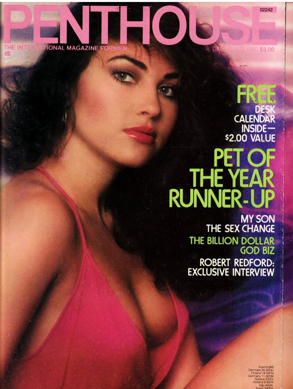 Penthouse December 1980 magazine back issue Penthouse magizine back copy december 1980 penthouse magazine, pet of the year runner-up, nude pictorial, political articles, int