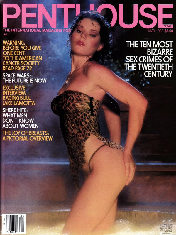 Penthouse May 1982 magazine back issue Penthouse magizine back copy may 1982 penthouse magazine, used backissues, nude women, international mag of sex protest and polit