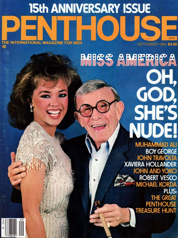 Penthouse September 1984 magazine back issue Penthouse magizine back copy september 1984 penthouse magazine, underage traci lords photos, miss america nude, back issues 1984,