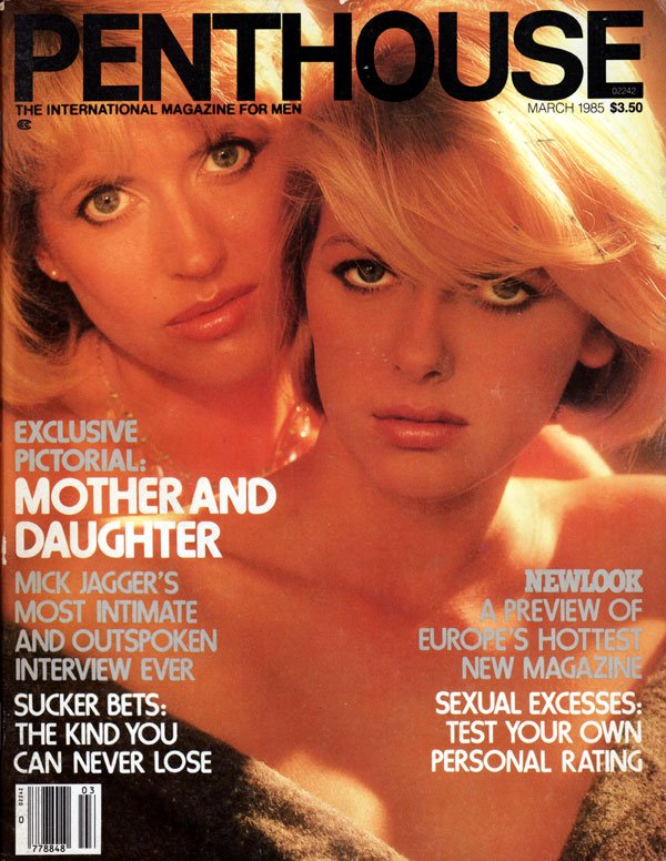 penthouse march 1985 magazine back issue penthouse usa. Black Bedroom Furniture Sets. Home Design Ideas