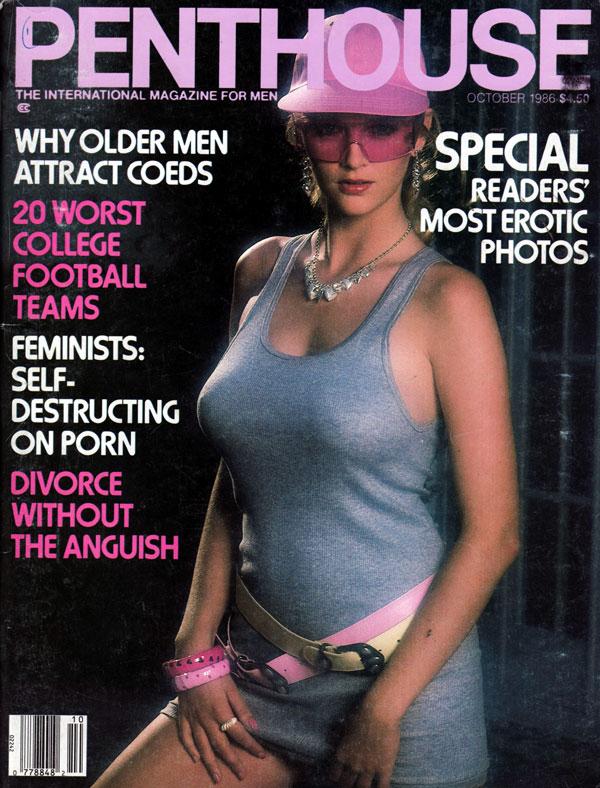 penthouse october 1986 adult magazine back issue penthouse. Black Bedroom Furniture Sets. Home Design Ideas